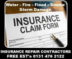 storm damage roof repairs, insurance claims, Roofers in Edinburgh
