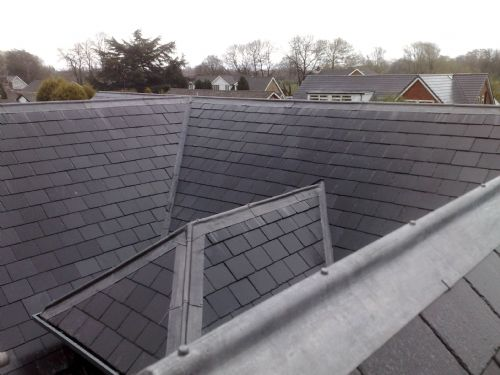 Slating, Zinc Ridging Repairs, Storm Damage Roof Repairs, Roofers In Edinburgh