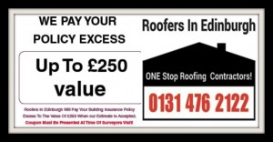 INSURANCE ROOF DAMAGE REPAIRS - roofers in edinburgh